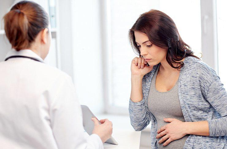 Выделения у беременной женщины на