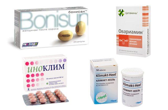 Биологические добавки овариамин