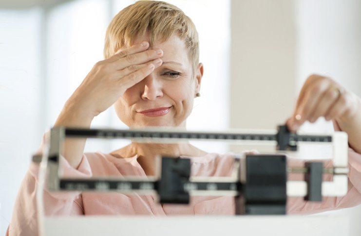 Вес при климаксе