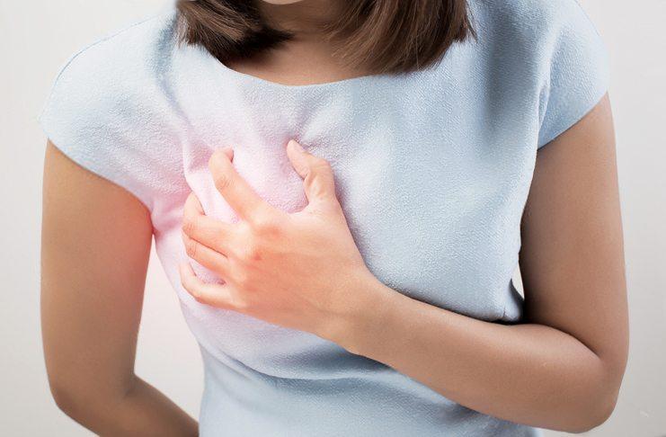 Болит грудь при менопаузе