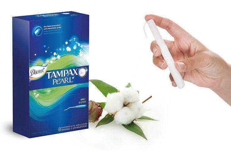 Тампоны Тампакс
