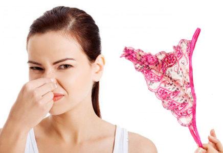 Выделений пахнет нет из зоны интимной