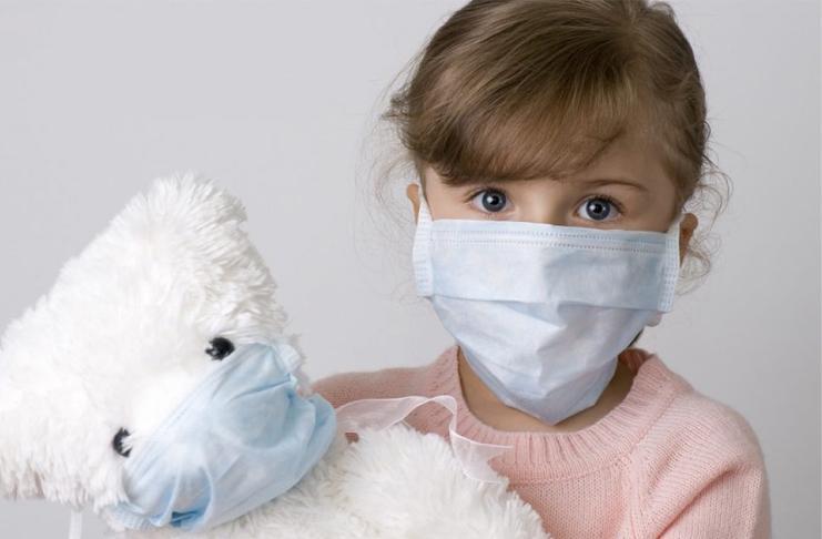 Как надеть маску на ребенка