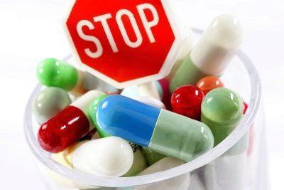нежелательно принимать антибиотики