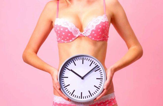 Длительность менструального цикла